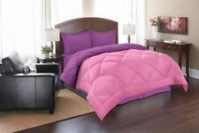 Elegant Comfort Goose Down Alternative Reversible 2-Piece Comforter Set, Ultra-S