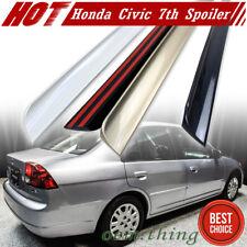 Painted Honda Civic 7th Sedan Rear Trunk Lip Spoiler 2005 LX GX