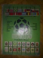 Programme 1970 Mexico World Cup Final Official Original - Green
