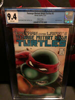 Teenage mutant ninja turtles #5 2nd print! MIRAGE CGC 9.4 NM WP VHTF!!