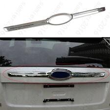 1x Chrome Back Rear Hatch Tailgate Cover Bezel bar Trim For Ford Edge 2007-2013