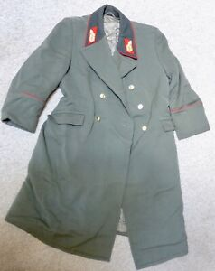 DDR NVA original alter General Mantel Landstreitkräfte  (s309)