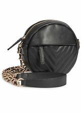 24% OFF B19030806 Damen Violet Handtasche Cross Body Bag Stitches schwarz