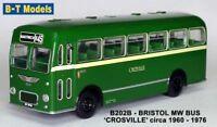 Bristol MW SD - Crosville (Nantwich) 1/76 British Bus