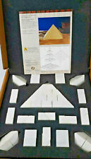 Authentic Models, Marble Pyramid, 55 Handcut Solid Marble Pieces, Ar003