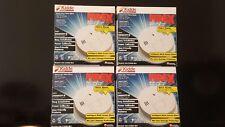 4 Pack Kidde Firex Smoke Alarm Detector Combination Carbon Monoxide (4pc)