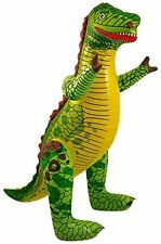 Inflatable DINOSAUR - 40 CM tall  Zoo Animal Blow Up Inflate Party Toy