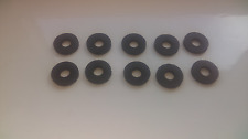 """20mm ( 3/4"""" )   x  8mm  hole  3mm thick rubber washers"""