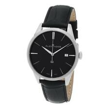 Alexander A911-01 Heroic Sophisticate Swiss Ronda 715 Date Leather Mens Watch