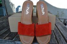 Schuh Ladies Size 5 Platform Slip On Sandals