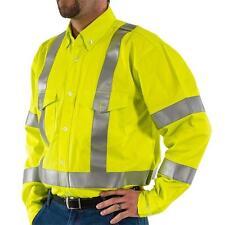 BlazeTex FR Hi-Vis Work Shirt, 95810, 3XLT, New, Free Shipping