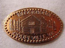 Blockhouse elongated penny Coupeville WA V71