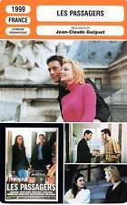 FICHE CINEMA : LES PASSAGERS - Babe,Garziano,Putzulu,Guiguet 1999 The Passengers