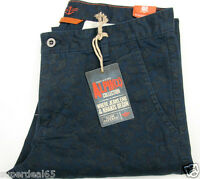 Dockers Alpha Collection Alpha Slim / Tapered Navy Paisley 100% Cotton Dockers