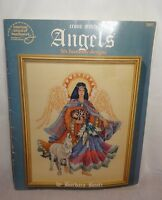Angels Six Heavenly Designs 3661 Cross Stitch Leaflet American School Needlework