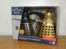 More details for dr who - history of the daleks #7 collector figure set - brand new