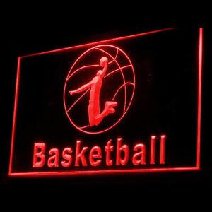 230016 Basketball Regulation Preseason Display LED Light Neon Sign