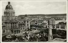 Durban South Africa Town Hall Real Photo Postcard