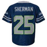 5d6637cfe (2016-2017) Seahawks RICHARD SHERMAN nfl INFANT BABY NEWBORN Jersey 12M 12 M