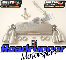 "Milltek SSXVW259 Golf R MK7 Exhaust Cat Back System Stainless 3"" Non Res Polish"