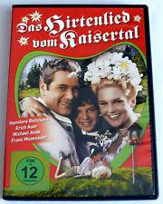Das Hirtenlied vom Kaisertal (1956) Heimatfilm, Hannelore Bollmann, DVD, gebr.