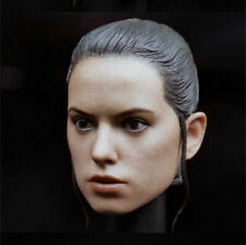 "1/6 Star Wars The Force Awakens Rey Head Sculpt Model F 12"" Action Figure Body"
