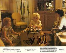 Hand Signed 8x10 photo original Lobby Card JANE FONDA in NINE TO FIVE + my COA