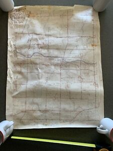 Spencerport New York 1934 Vintage Topographic Map Planning Parma Ogden Riga