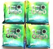 Oreo Trolls World Tour Green Glitter Pop Candy Creme Chocolate Cookies lot of 4