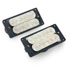 Ivory Pearloid Electric Guitar Humbucker Double Coil Neck and Bridge Pickup