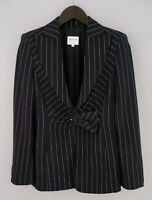 Women Armani Collezioni Blazer Jacket Wool D40 F42 IT46 US10 UK12 QDA768
