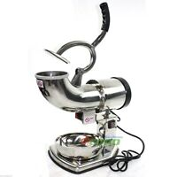 Electric Snow Cone Machine Ice Shaver Maker Shaving Crusher
