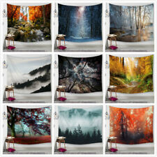 Psychedlic Forest Tree Print Tapestry Art Room Wall Hanging Tapestry Home Decor