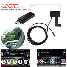 Auto Car Digital DAB Audio Radio Tuner Receiver Antenna USB Adapter For Android