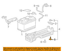 Chevrolet GM OEM 16-18 Cruze 1.4L-L4-Battery Tray Retainer 13408272