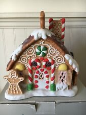 PartyLite Gingerbread House Tealight Candle Holiday Village Christmas (P7304)