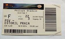 PSV  vs Estoril Praia ticket UEFA Europa League 2014