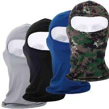 Unisex Outdoor Motorcycle Full Face Mask Lycra Balaclava Ski Neck Protection#we