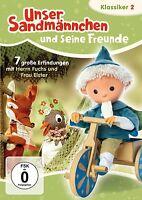 Sandman Pittiplatsch Schnatterinchen Moppi Sandman Clásicos DVD 2 NEU