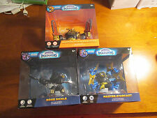 LOT 3 SKYLANDERS IMAGINATORS MASTER STARCAST & CHAIN REACTION + HOOD SICKLE DARK