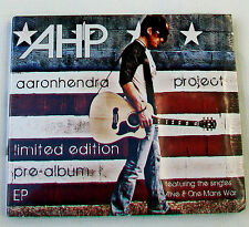 AHP AARON HENDRA PROJECT Limited Edition Pre-album EP Brand New Sealed Tiffany