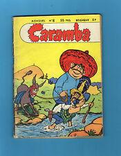► MENSUEL CARAMBA N°8 - CARAMBA ET ALONZO - JANVIER 1956