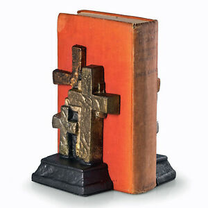"BOOKENDS - ""HAVE FAITH"" CROSS BOOKENDS - RELIGION & SPIRITUALITY"