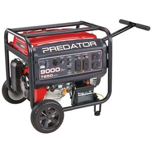 9000 Watt Gas Powered Portable Generator, CARBhgd