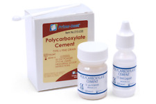 Dental Self-Cure Polycarboxylate Permanent Luting Cement Crowns & Bridges