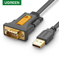 Ugreen USB to RS232 DB9 Serial Cable 9 pin Adapter for Win 10,8,7 Mac OS X,Linux