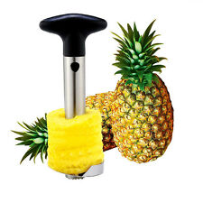 Kitchen Peeler Pineapple Core Easy Stainless Steel Slicer Home Tool Fruit Using