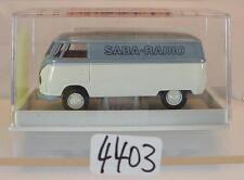 Brekina 1/87 Nr. 32013 Volkswagen Bulli VW T1a Kasten Saba-Radio OVP #4403