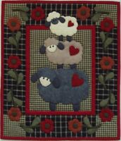 Rachel's of Greenfield Wooly Sheep Wall Quilt Kit