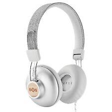 House of Marley Positive Vibration 2 on Ear Headphone - Silver